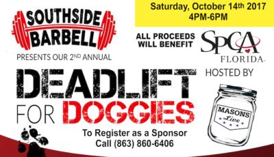 Deadlift for Doggies 2017 Blog