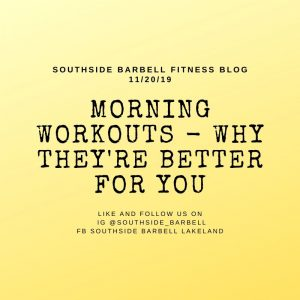 Morning Workouts