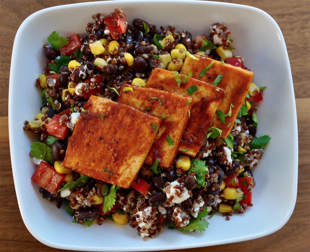 Tofu Burrito Bowl