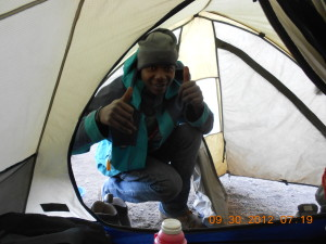 Kilimanjaro Summit - Nimus Our Guide 2012
