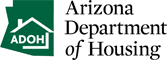Arizona Department of Housing Logo