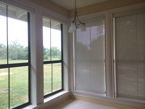 roller shades for big windows