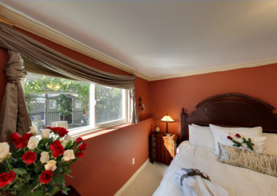 The Majestic Honeymoon Suite Has a Beautiful View of the Shaded Gazebo