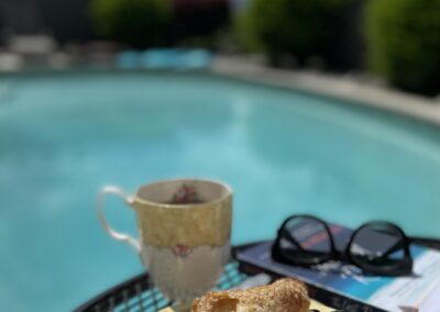 Expect delightful touches like a fresh al fresco breakfast served by the Pool