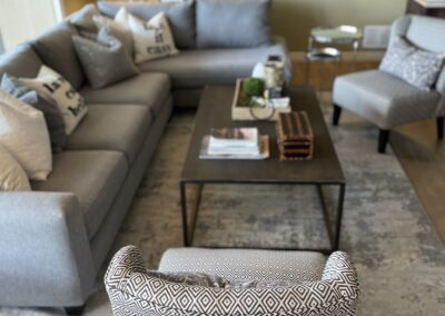 Generous seating area in the Common Living Room means theres always a great spot waiting for you and your sweetheart