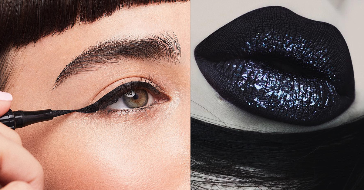 7 Blackest Black Makeup Products