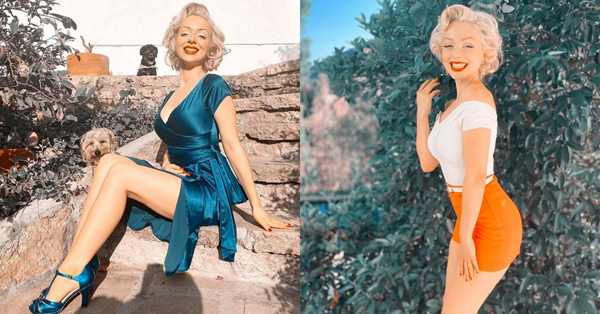 This TikToker is a Modern Marilyn Monroe