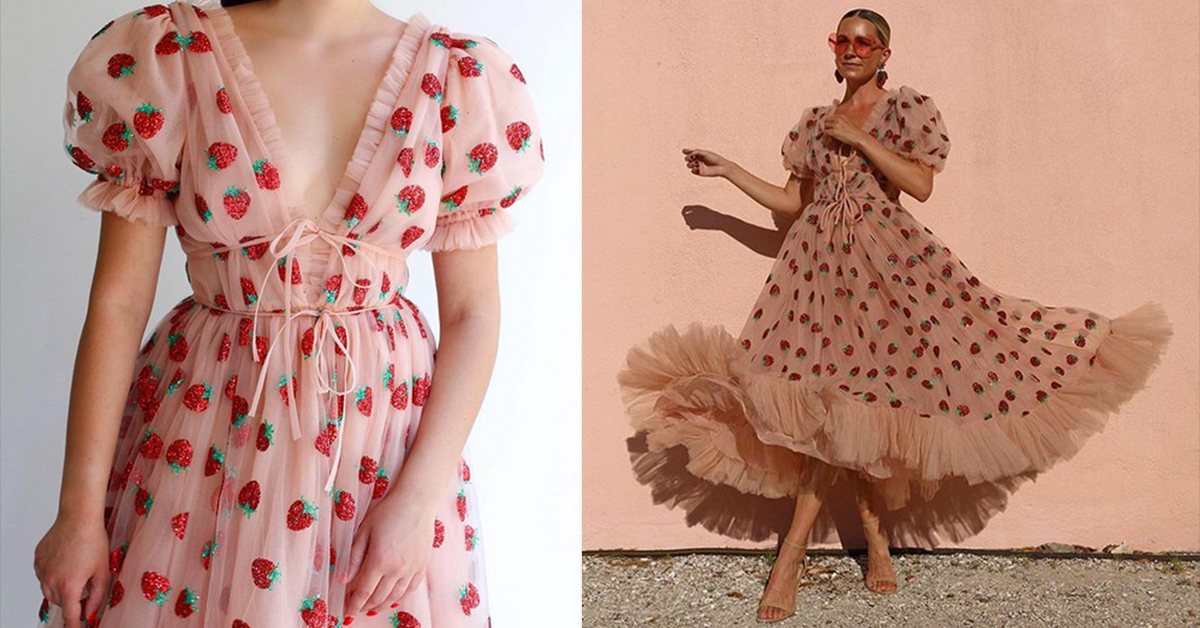 The Strawberry Dress is Taking Over the Internet