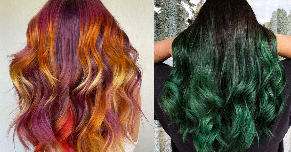 10 Colorful Fall Hair Trends We Love