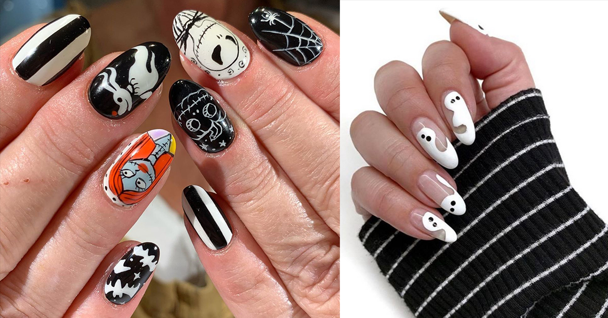 20 Creepy Creative Halloween Manicures
