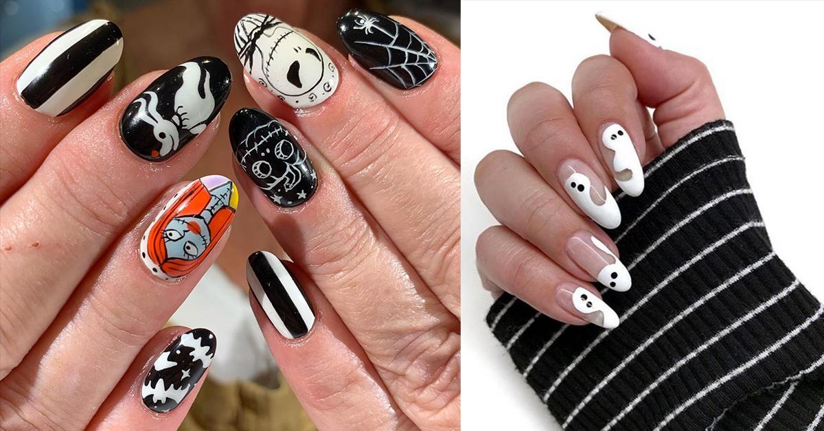 20 Creepy Creative Halloween Manicures