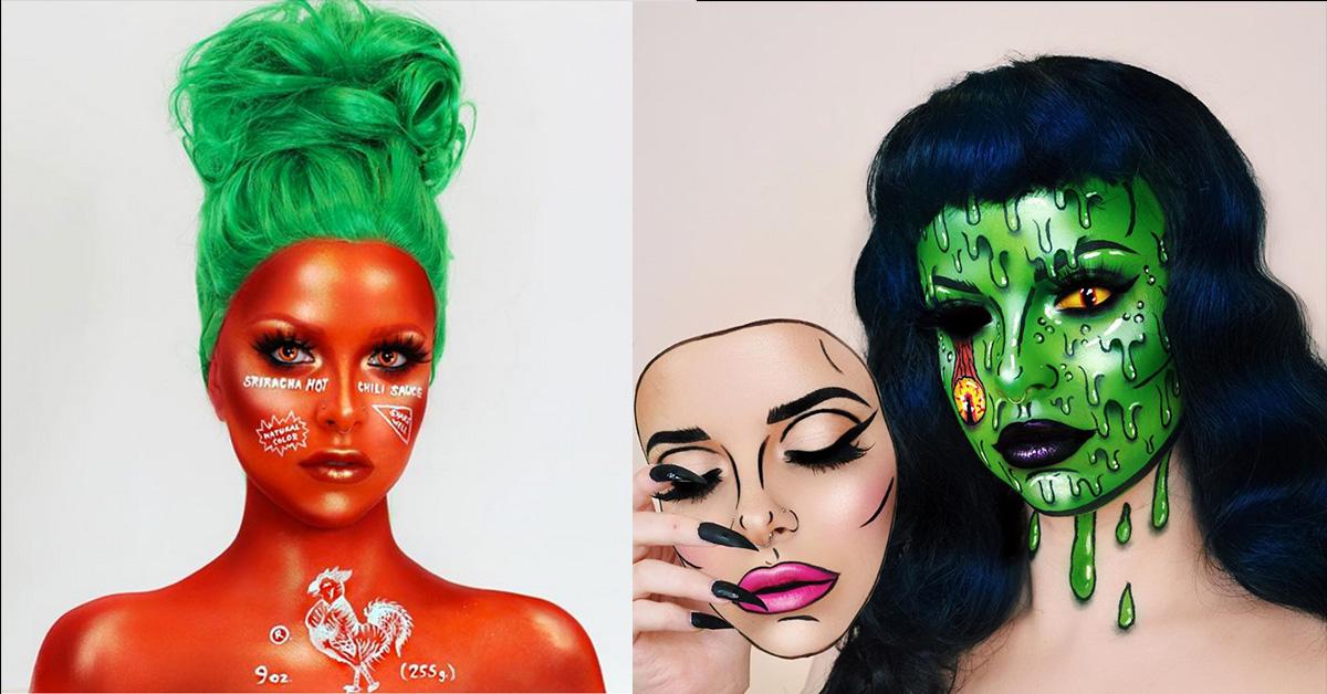31 Days of Halloween Makeup: Kimberley Margarita