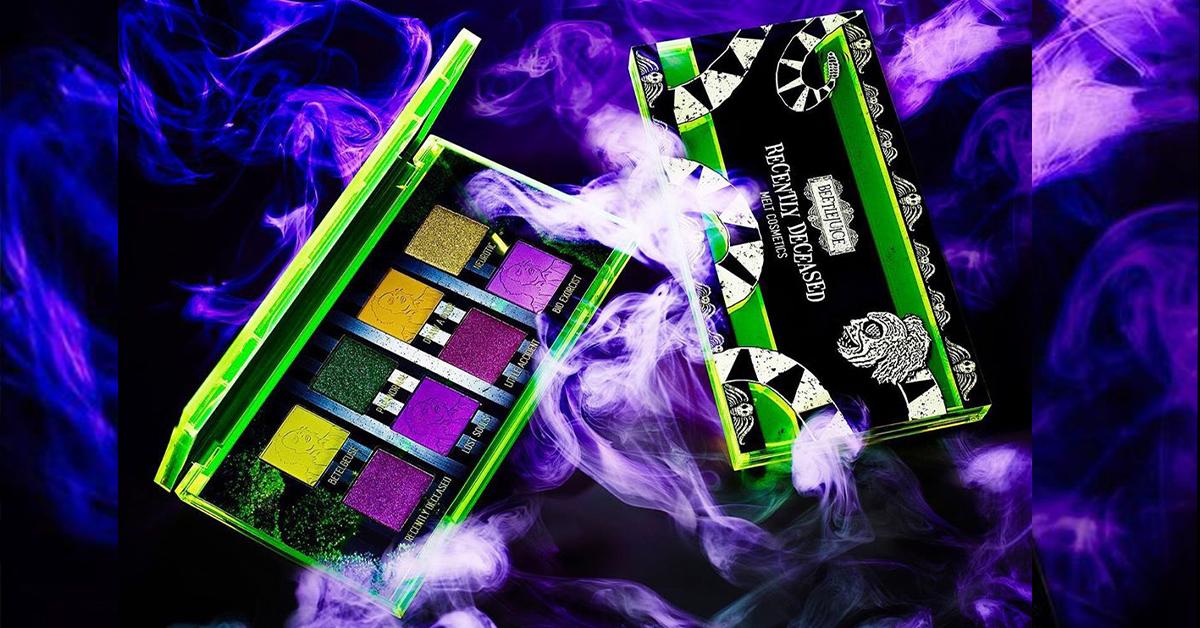 Melt Cosmetics Debuts 'Beetlejuice' Themed Collection Just in Time for Halloween