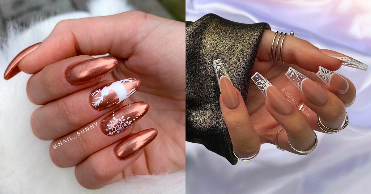 10 Wonderfully Winter Inspired Manicures