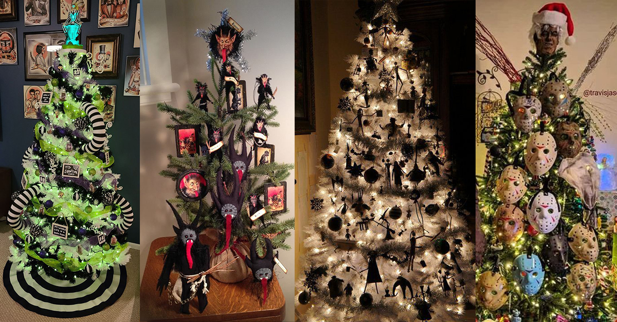 25 Creepy Cool Christmas Trees