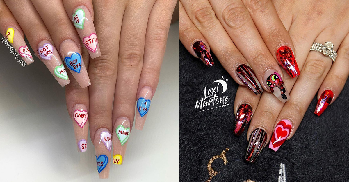 10 Lovely Valentine's Day Inspired Manicures