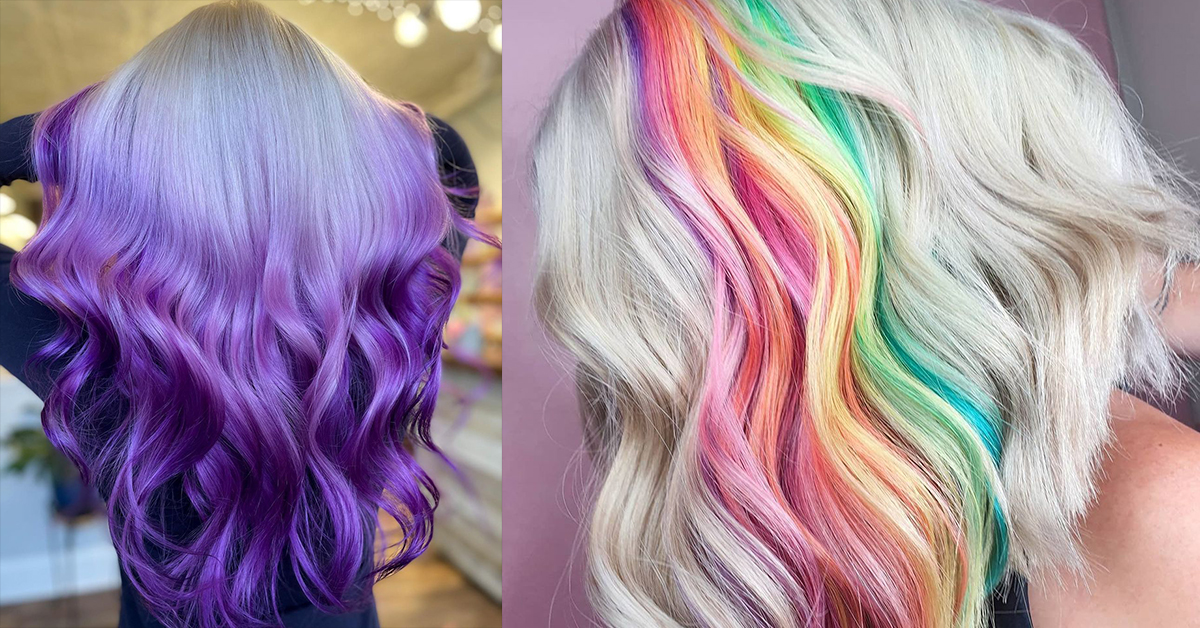 10 Colorful Spring Hair Trends We Love