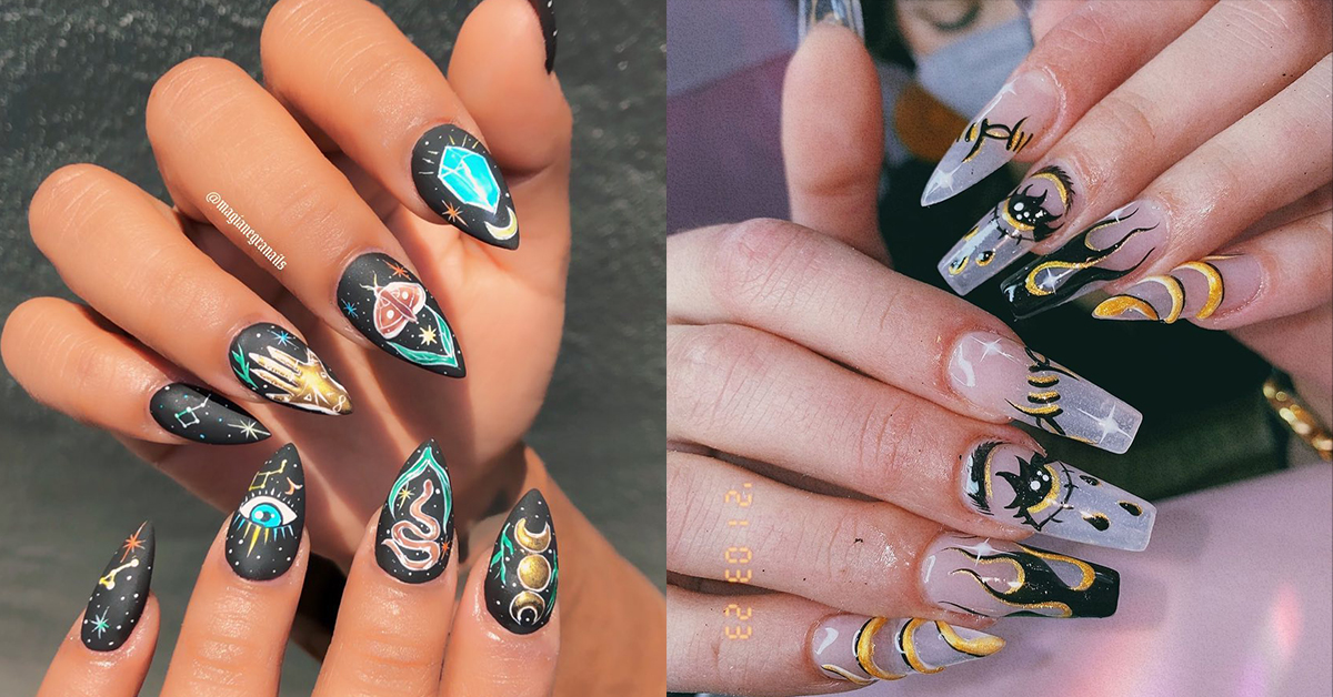 10 Wonderfully Witch Inspired Manicures