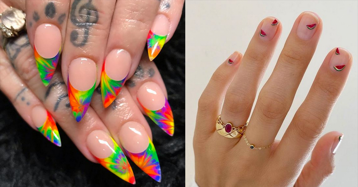 10 Manicures Made For Summer Lovin'