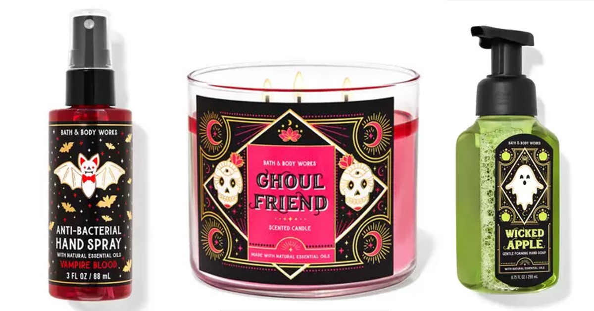 Everything You Need to Know About the Bath & Body Works 2021 Halloween Collection