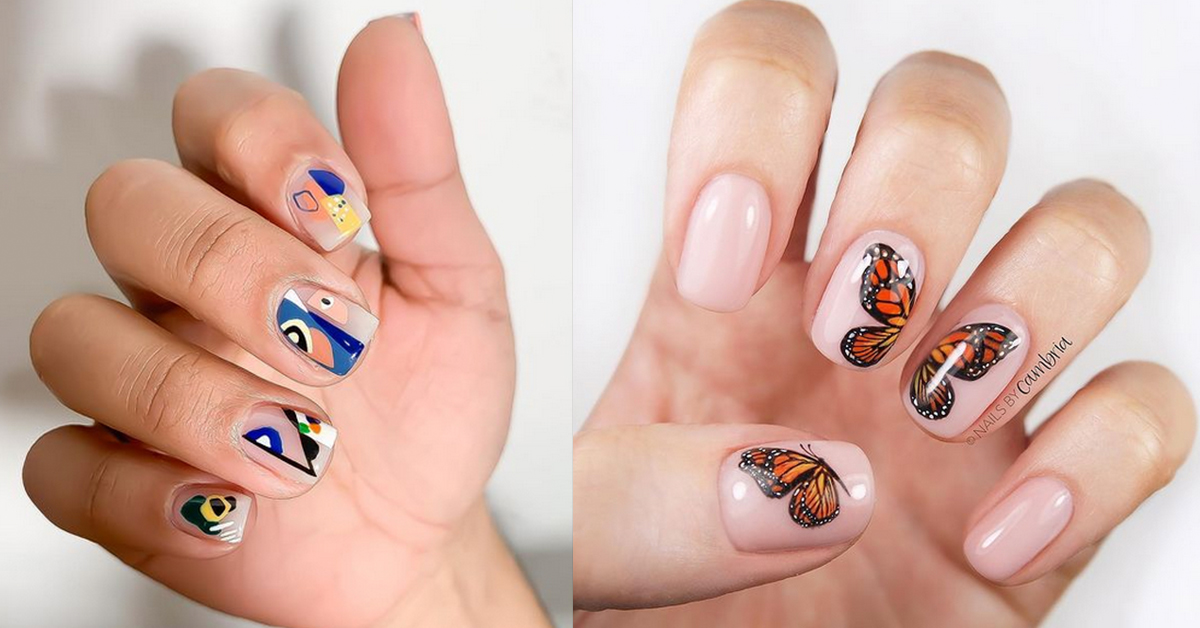 15 Stunning Designs for Short Nails