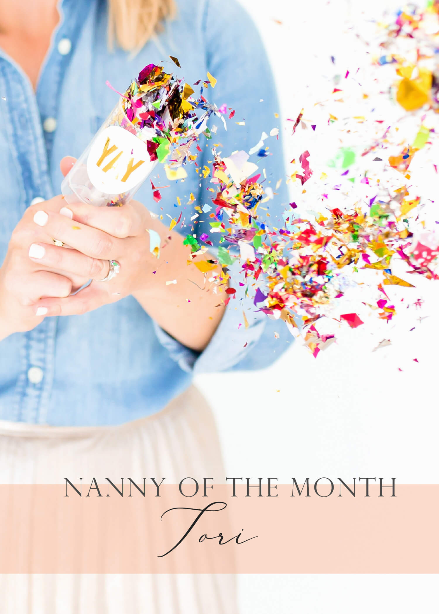 Nanny Of The Month   August 2018   Meet Tori