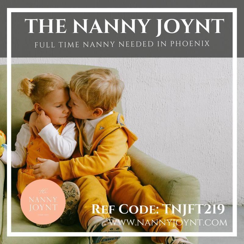 Part time nanny 2 kids