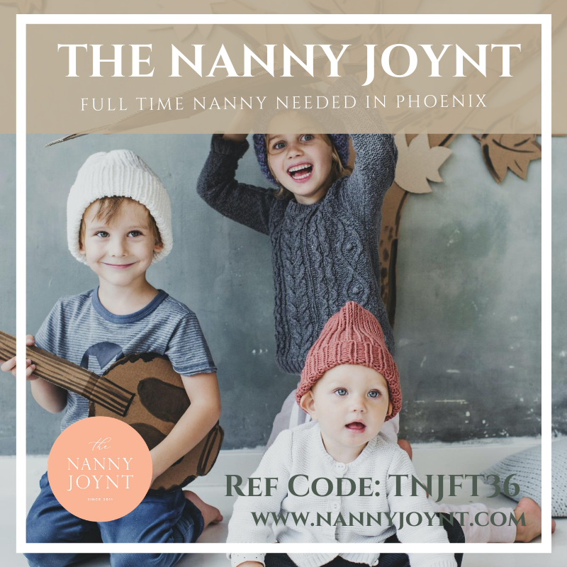 Full time nanny Phoenix
