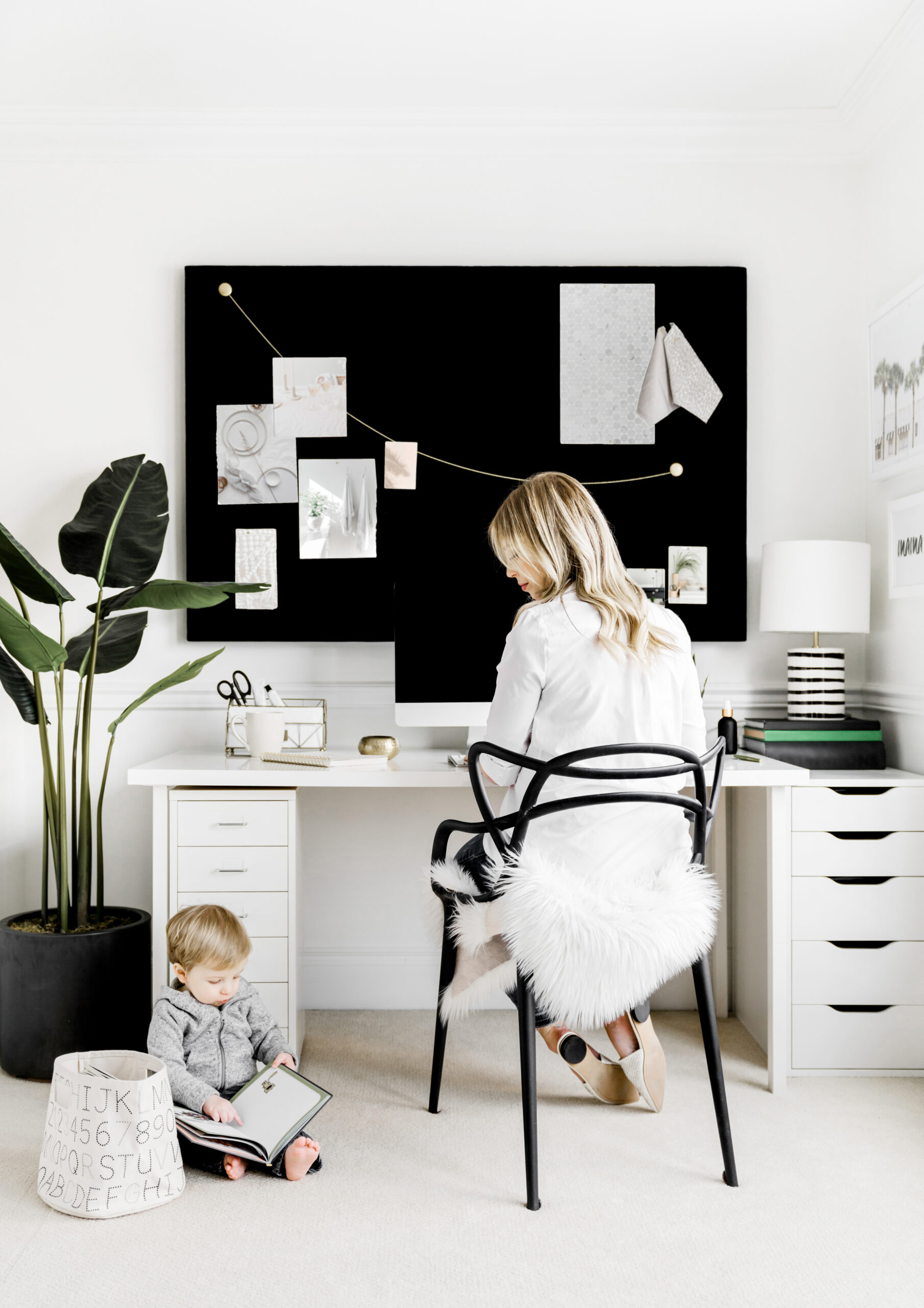 Work from home with Children