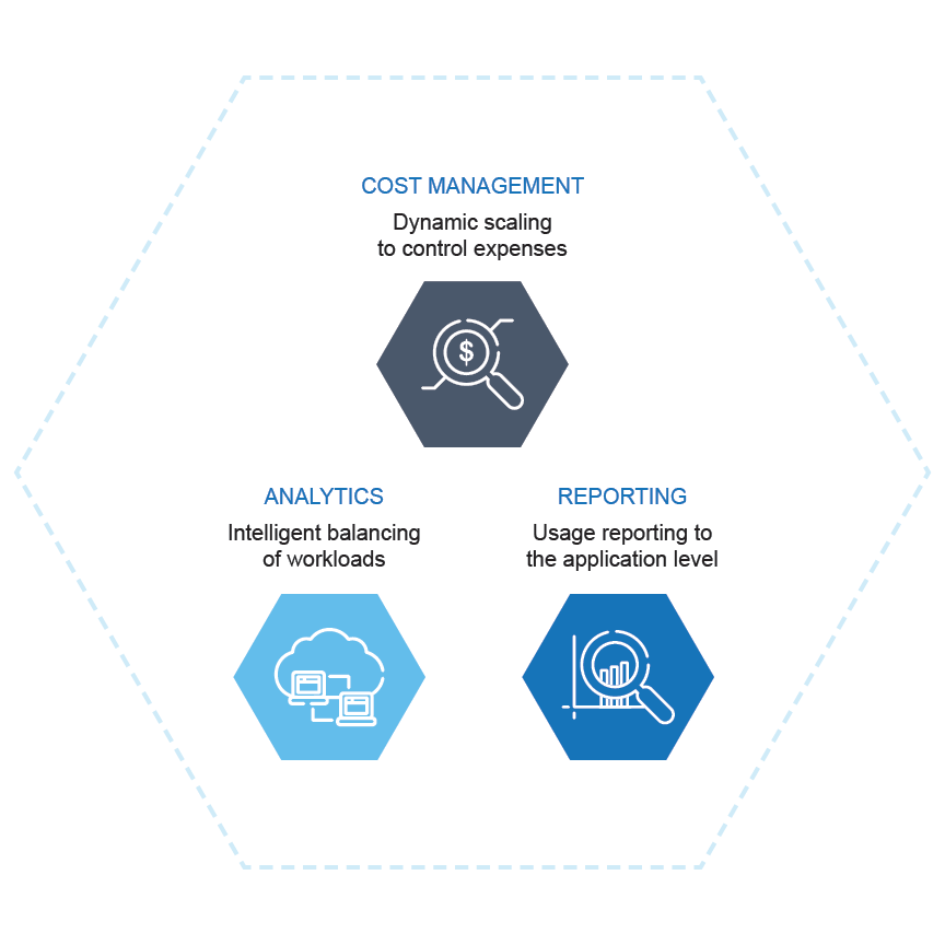 Manage Cloud Costs Infographic