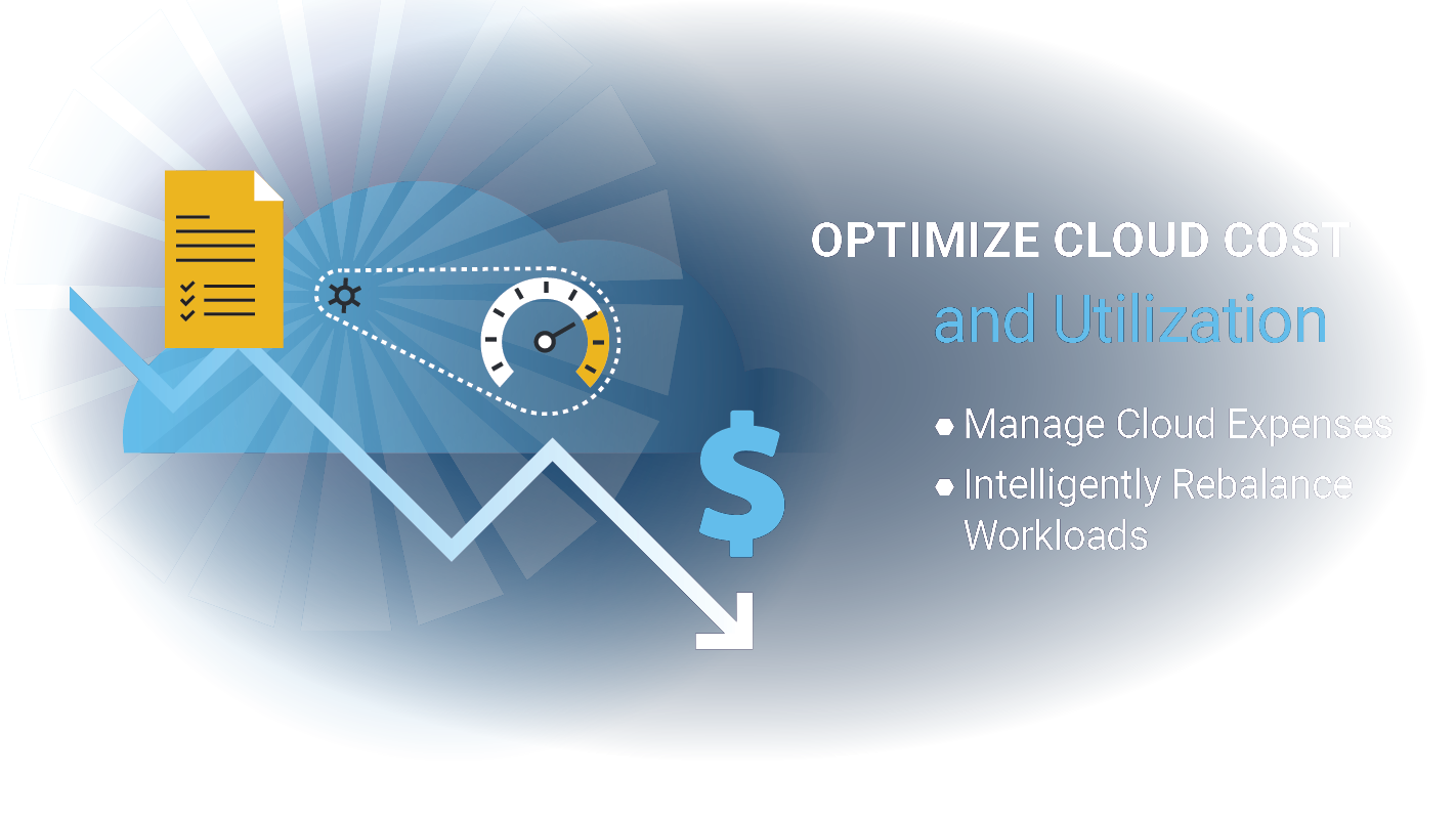 Optimize Cloud Cost Graphic