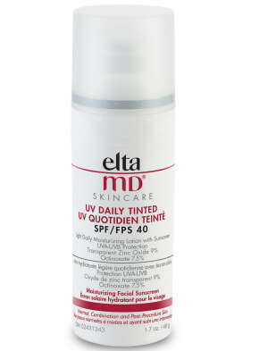 Elta MD uv daily tinted sunscreen light and moisturizing