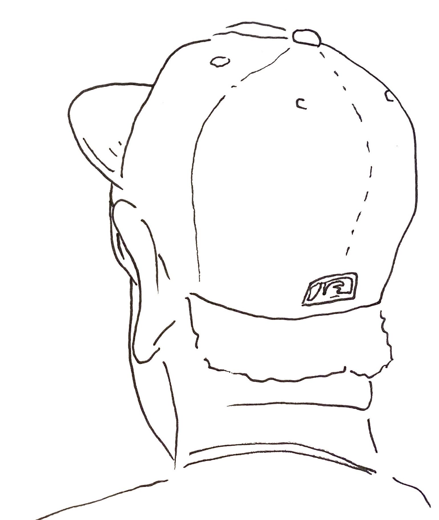 Figure CU - face left