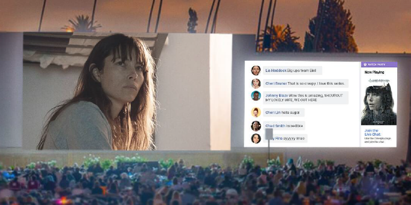 What if we turned L.A. Cinespia into the world's biggest Facebook Watch party?