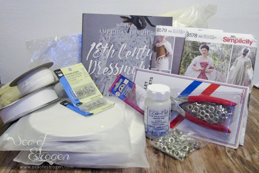 Supplies and Fabric