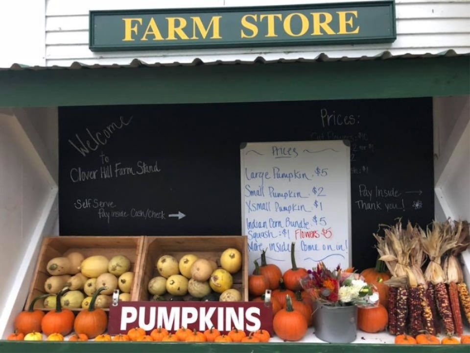 Local farm stand Hardwick, MA