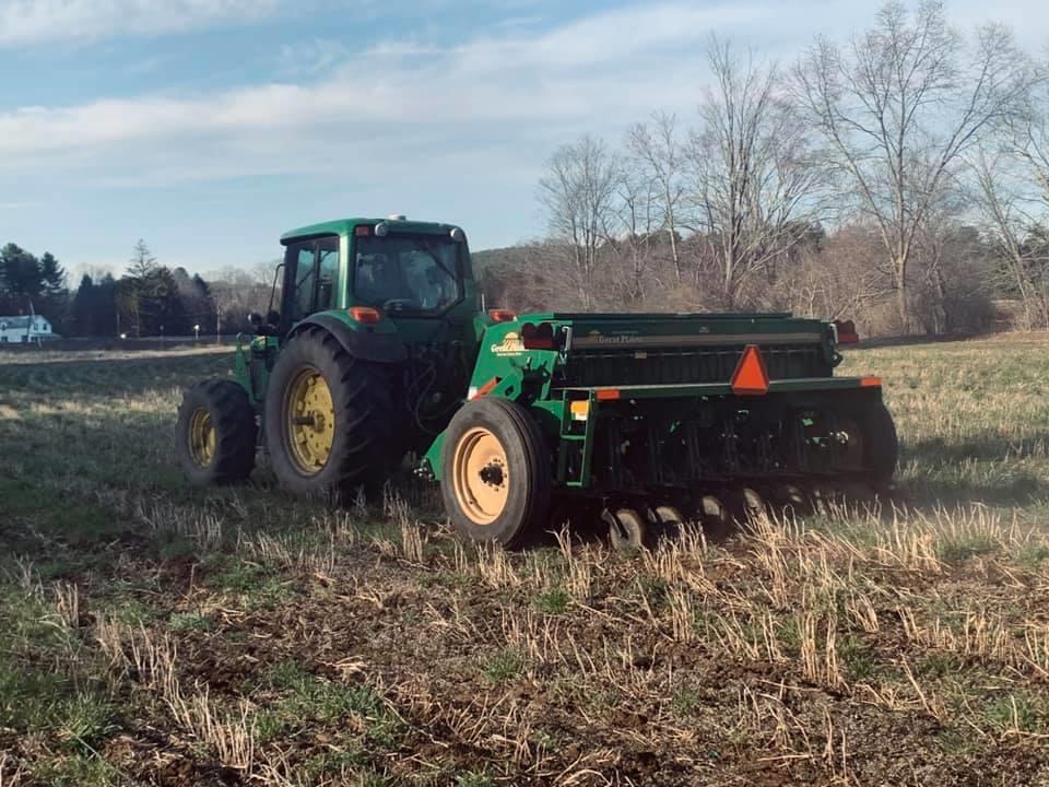 Spring 2020 No till Barley planting