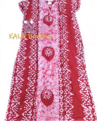 Red Batic Night Gown