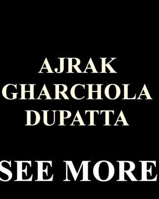 Ajrak Gharchola Dupatta