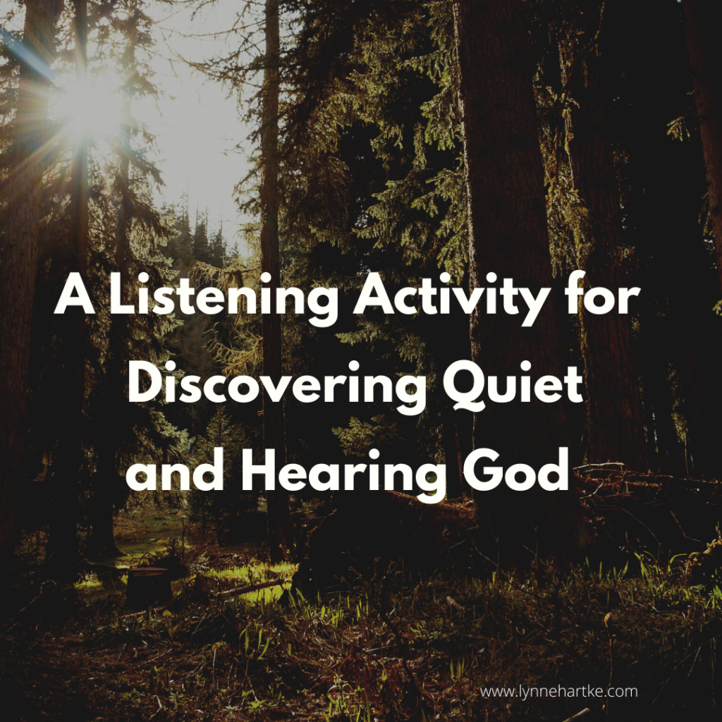 listening activity title page