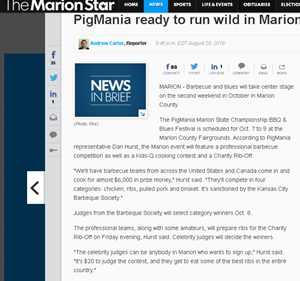 Marion, OH Star newspaper 2015