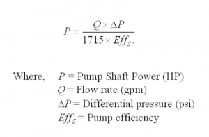 If we can accurately measure any 2 of the above items, we can estimate the 3rd by using the following formula