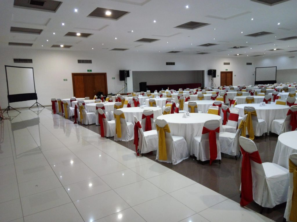 sonido y pantallas evento corporativo