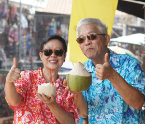 It is a happy life to retire in Thailand, especially Chiang Mai.