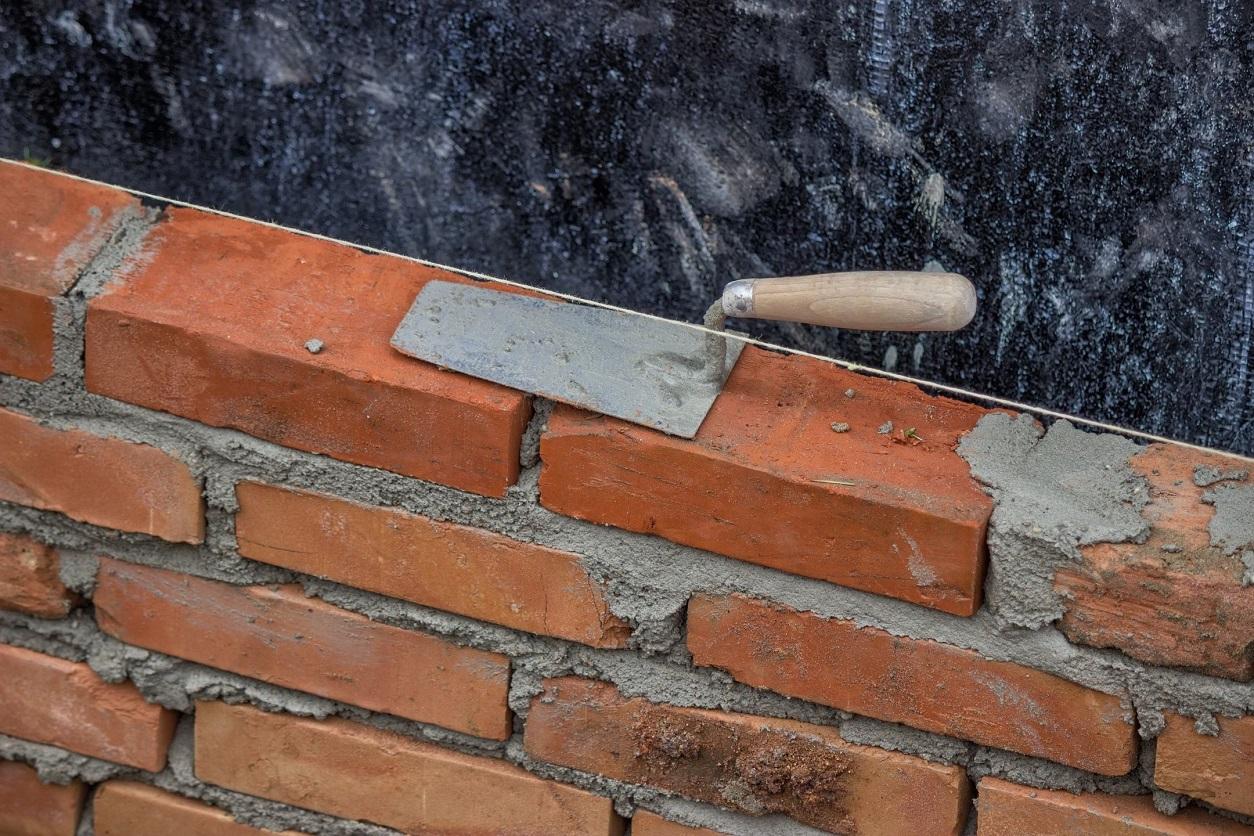 Brick and Stucco