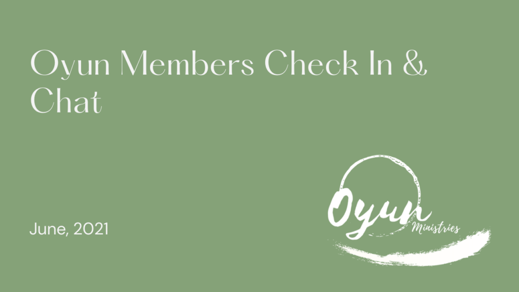 Oyun Members Check In & Chat
