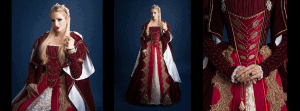 Custom Pageant Gowns: 16th Century Miss Italy