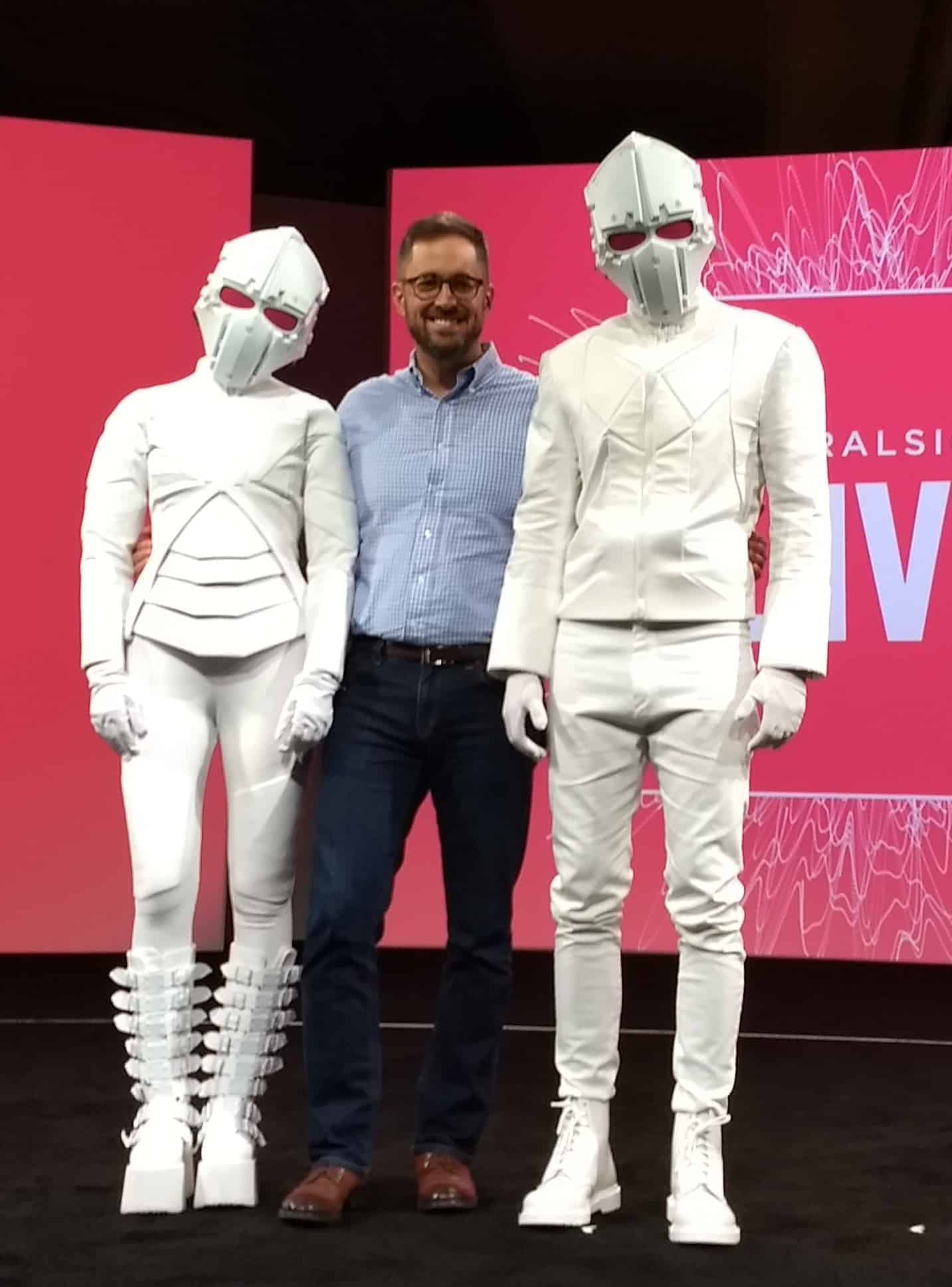 Custom Futuristic Costumes: Pluralsight Live 2017 Video