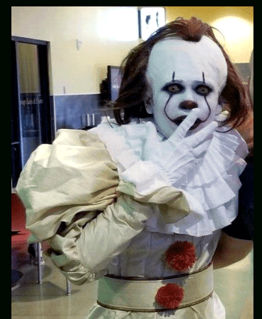 PENNYWISE: CUSTOM COSTUME