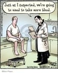 Bloodwork cartoon